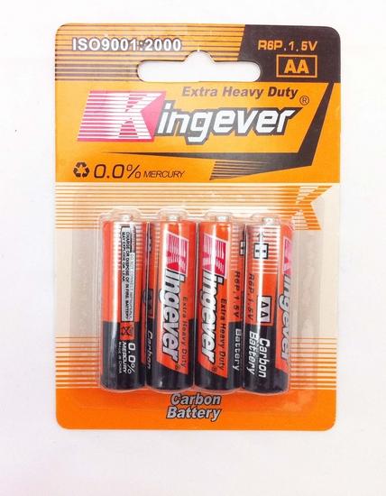 Kingever-AA 4st. R6p 1.5v