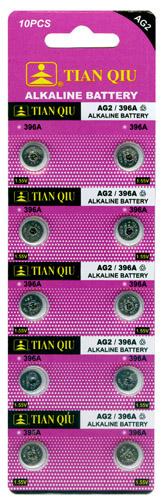TIAN QIU AG 2 / 396A batterijen