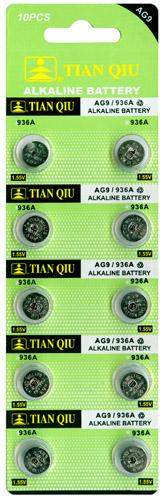 TIAN QIU AG 9 / 936A batterijen