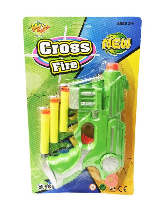 CROSS FIRE GUN PISTOOL MET PIJLTJES