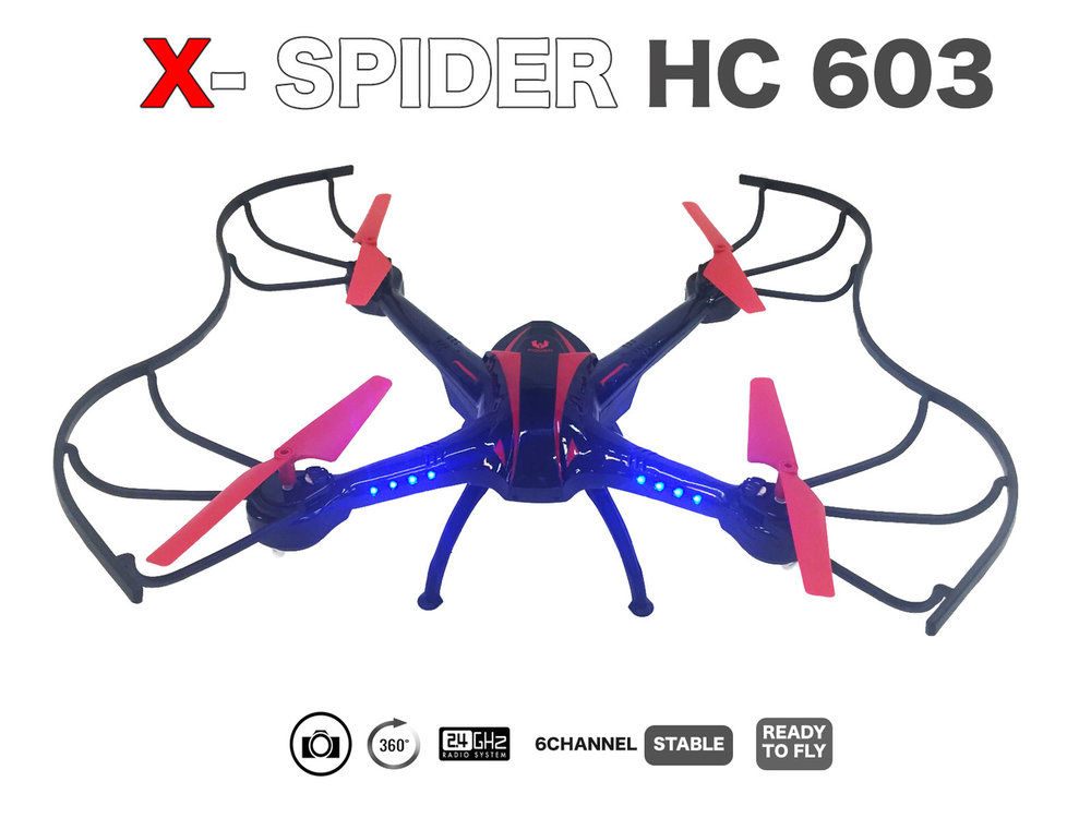 X-SPIDER QUADCOPTER |2.4GHZ |drone