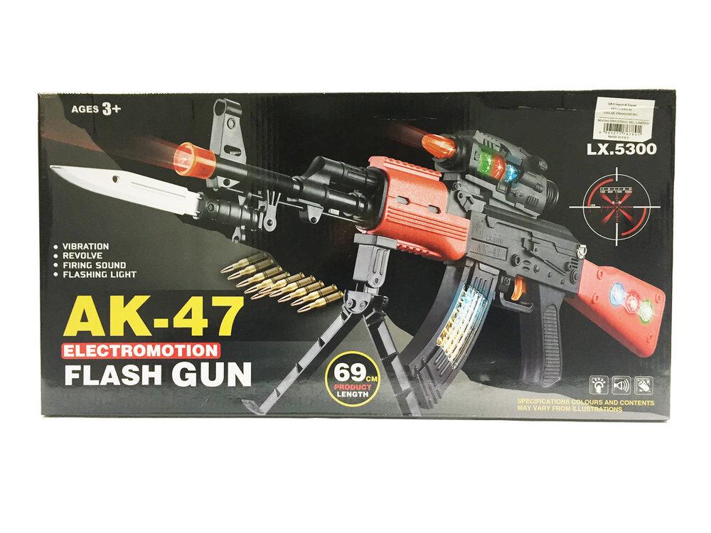 Flashing AK-47 GUN 69CM