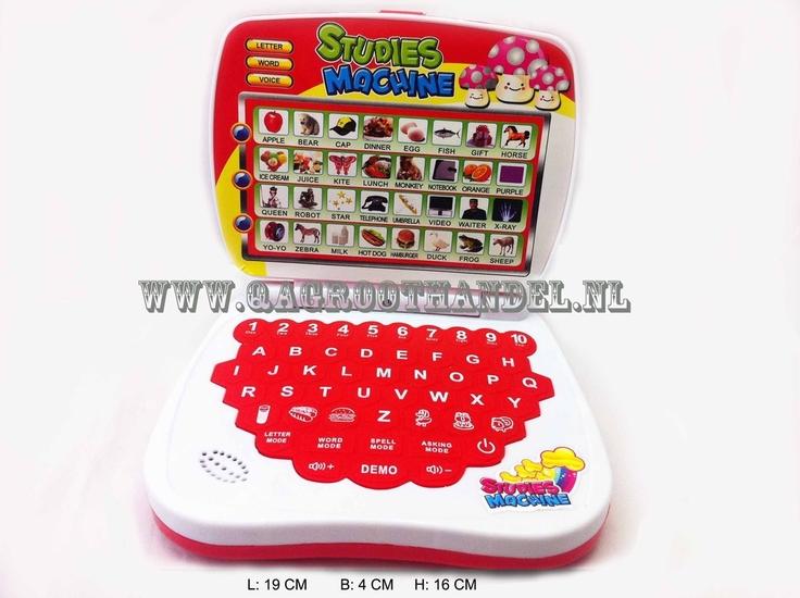 Speelgoed Laptop -788 Rood
