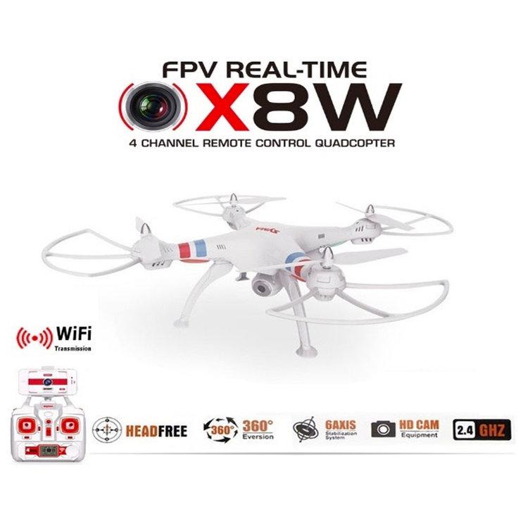 Syma X8W drone WiFi FPV 720p Camera quadcopter