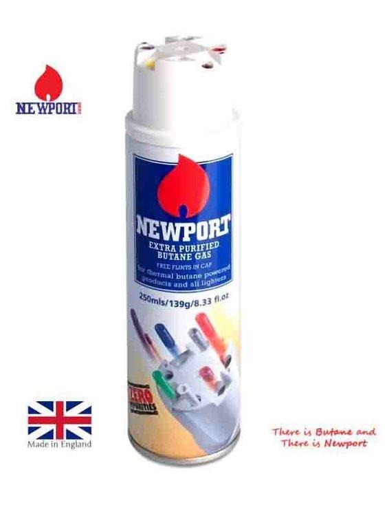 Newport Butane Gas 250ml