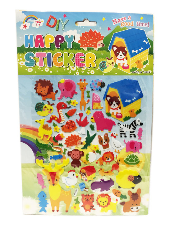 Happy Stickers mix ass. plakstickers |school stickers