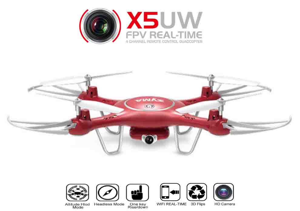 SYMA X5UW 720P FPV REAL-TIME - FPV Quadcopter Drone
