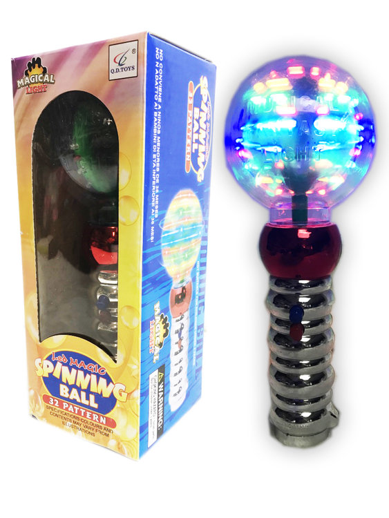 Spinning LED Magic Ball | Discobal