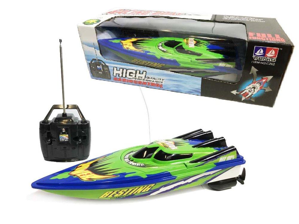 RC speelgoed boot 4CH 2.5km |33CM mix kleuren
