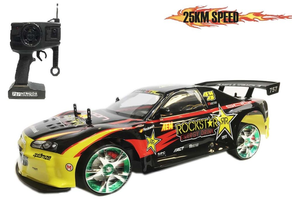 RC DRift Race Auto car 25km/u 1:10 Mix ass.
