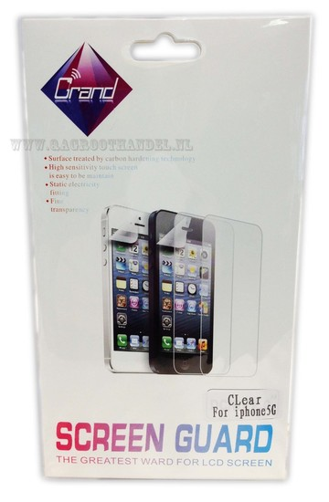 Scherm folie voor iphone 5/5S |screenprotector iphone 5
