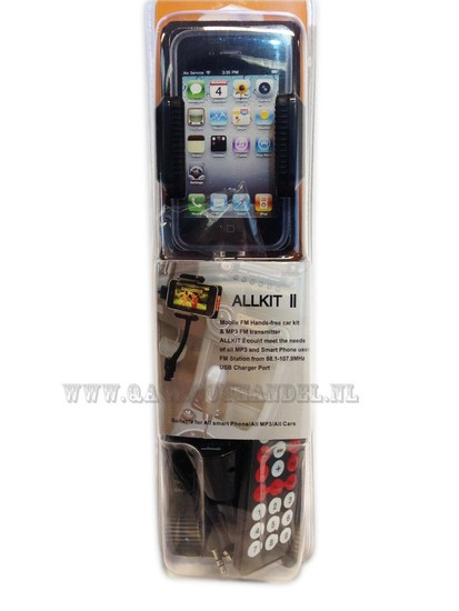 Iphone 4 car fm Transmitter set
