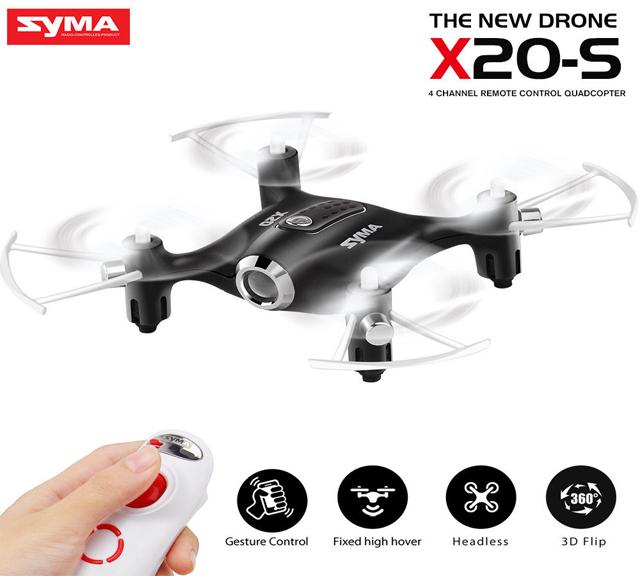 Syma X20-S mini quadcopter Gravity Sensor controller drone