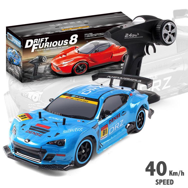 Rc auto Drift Furious 8   2.4Ghz 4x4WD   1:10 40KM/U   race auto