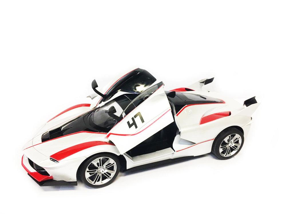Rc Auto - Race Car - Sportwagen 42.5CM   Functie deuren Open/Dicht -Z-Car
