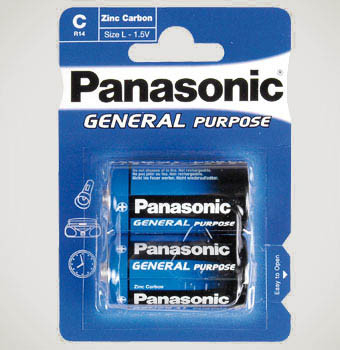 Panasonic C 1.5V (R14)