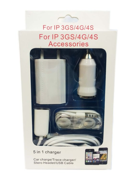 Charger set 5 in1 iphone
