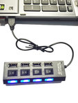 USB HUB 2.0 4-port USB meervoudig