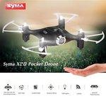Syma X20 Pocket Mini Quadcopter 2.4ghz + Hovermode