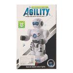 Robot met geluid en led lichtjes universal drive Agility robot