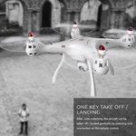Syma X8SWD drone met draaibaar live camera -720HD 2.4Ghz quadcopter