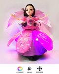 Dancing Angel Girl - Dansende Speelgoed pop met LED lichtjes & Muziek paars