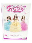 LITTLE PRINCESS - SPEELGOED PRINSESJE MET LICHTJES EN MUZIEK - mix ass kleuren