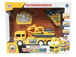 RC Graafmachine speelgoed - Truck afstand bestuurbaar - led lichtjes & geluid