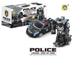 Politie Robot Car 2 in 1 robot en auto | Venom God of War