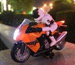 Rc Motorfiets op 2,4 GHz- Radiografisch bestuurbaar motorfiets