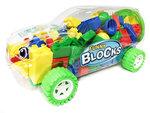 Auto bouwblokjes - Bouwstenen