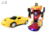 Transform - Robot Race car - 2in1 robot en auto