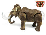Dinosaurus speelgoed - mammoth - met licht en mammoet geluiden - 26CM