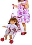 Babypop Doll Bonnie met poppenwagen- inclusief accessoires