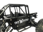 Rc Rock Metal Crawler 4x4 off-road auto 1:14 - bergbeklimmer 2.4GHZ Black
