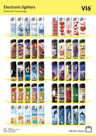 Unilite Vio electronic aanstekers Sleeve Deal mix (10 ass.)
