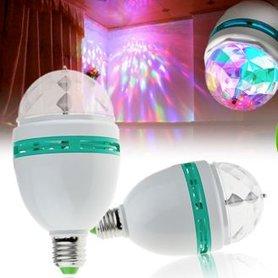 Discolamp,feestlamp |LED draailamp kristallook