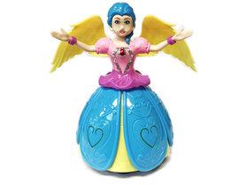 Dancing Prinsesje Angel Girl met muziek en 3D-light