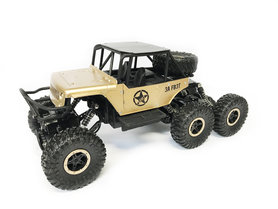 RC ROCK DEFENDER auto OFF ROAD- 6X6 - BERGBEKLIMMER -2.4GHZ