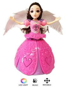 DANCING ANGEL GIRL - Dansende prinsesje +Mini Babypop met trendy outfit (2pack)