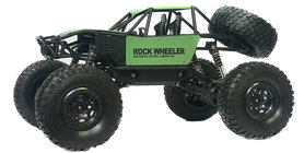 RC MONSTER CAR METAL ROCK CRAWLER 4WD auto 2.4GHZ BIG FOOT - schaal 1:8 (45CM)