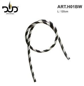DUD Shisha silicone slang Zebra black&white hose 120CM