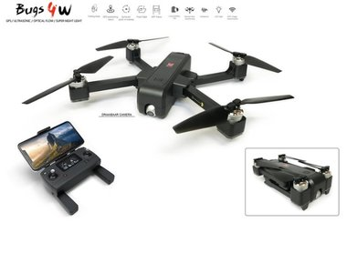 MJX B4W Drone - 5G Wifi FPV 2K Camera - Brushless GPS - opvouwbaar bugs 4w -Single‑axis Gimbal