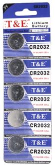 T&E CR2032 3V