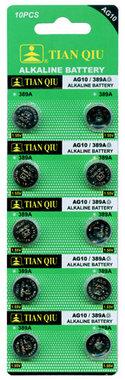 TIAN QIU AG 10 / 389A batterijen