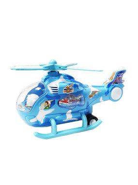 Speelgoed helikopter met disco Led lichtjes en geluid