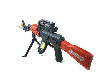 Flashing AK-47 GUN 69CM speelgoed geweer