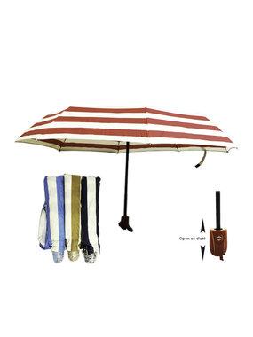Uitschuifbaar paraplu opvouwbaar mix assorti kleuren