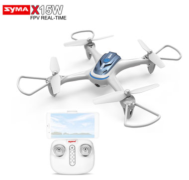 Syma X15W FPV Real time camera drone +app control NEW!