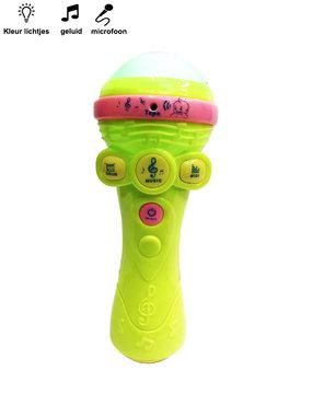 Tape Mic Speelgoed microfoon met diverse instrumenten